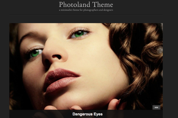 Website Templates for Photographers